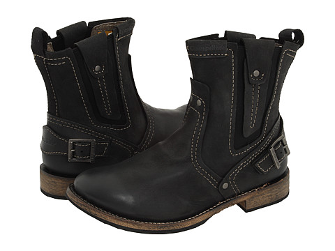 Caterpillar - Vinson (Black) Men's Pull-on Boots