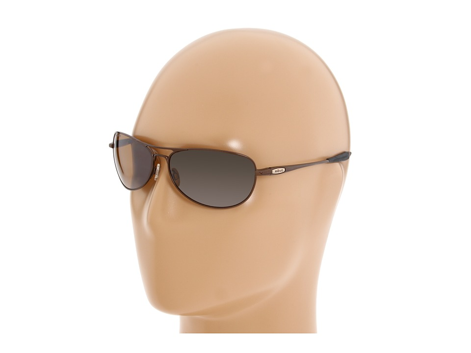 Revo - Transom Titanium (Polished Brown/Bronze Lens) Sport Sunglasses