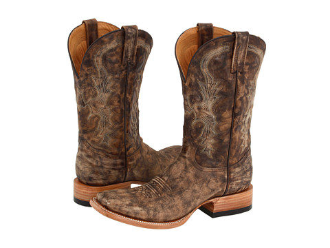Stetson - The Bob Boot (Sanded Redwood) Cowboy Boots