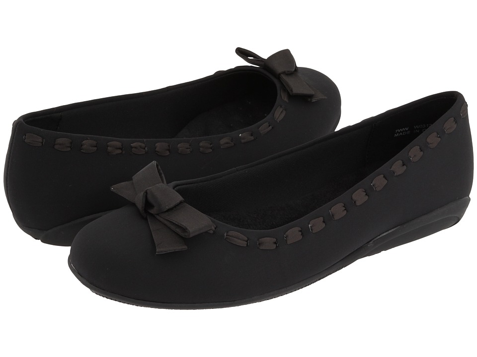 Walking Cradles - Fawn (Black Micro) Women's Slip on Shoes