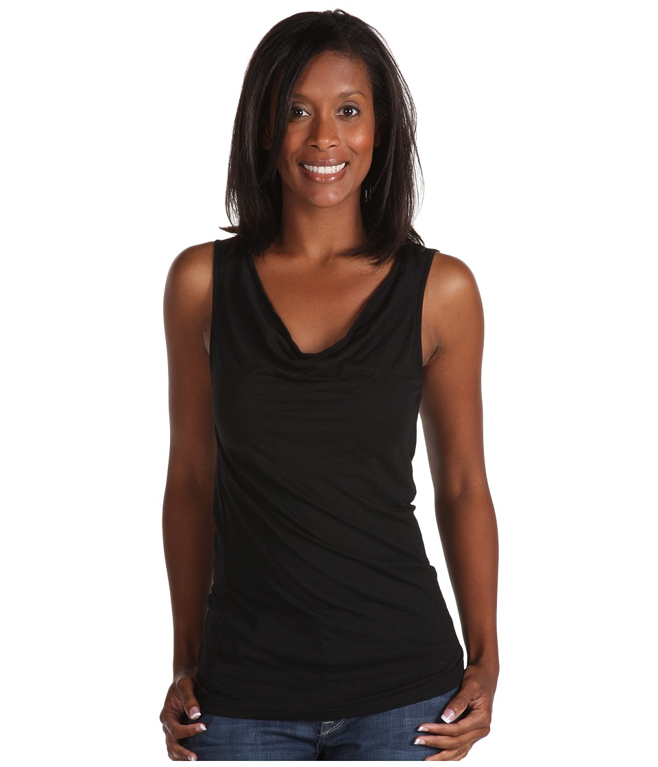 Michael Stars - Drape Tank (Black) Women's Sleeveless