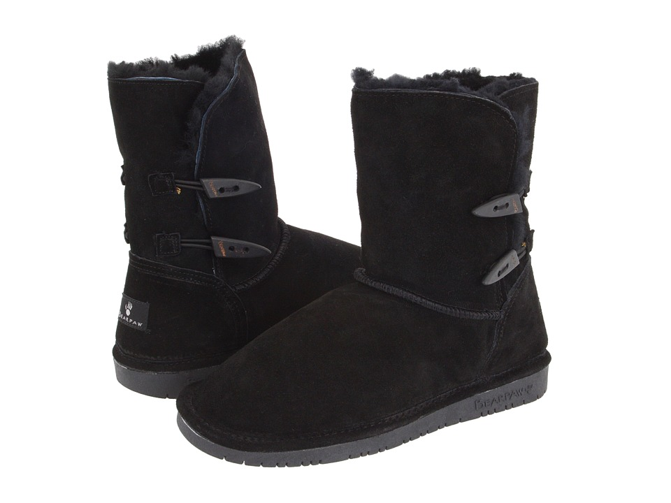 Bearpaw - Abigail (Black) Women's Pull-on Boots