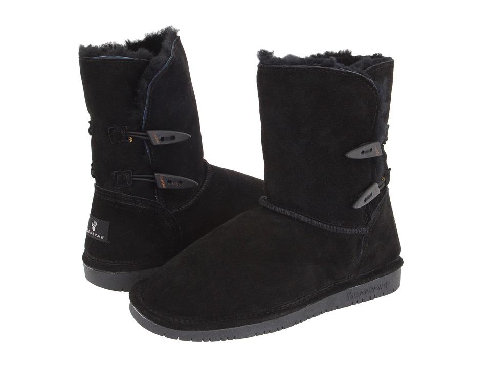 Image of Bearpaw - Abigail (Black) Women's Pull-on Boots