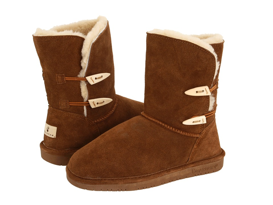 Bearpaw Abigail (Hickory) Women's Pull-on Boots