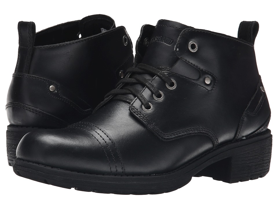 Eastland - Overdrive (Black Leather) Women's Lace-up Boots