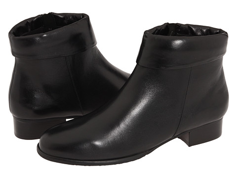 Fitzwell - Peak Ankle Boot (Black Leather) Women's Boots