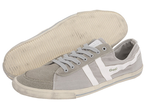 Gola - Quota (Grey/White) Men's Lace up casual Shoes