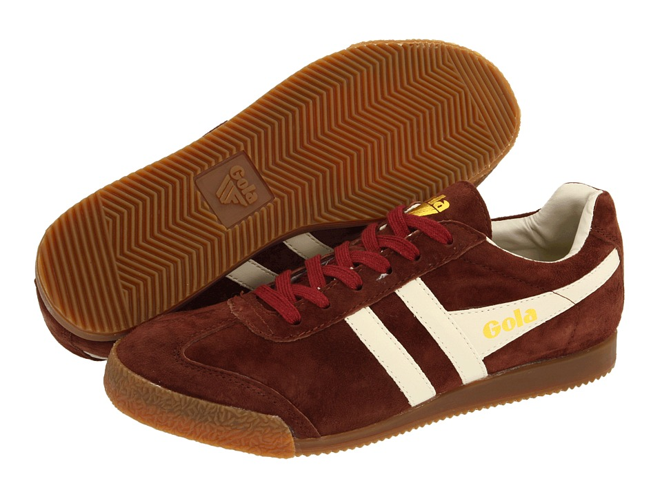 Gola - Harrier (Burgundy/Ecru) Men's Shoes