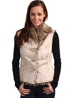 SALE! $39.99 - Save $45 on Scully Faux Fur Vest (Chalk) Apparel - 52.95% OFF $85.00