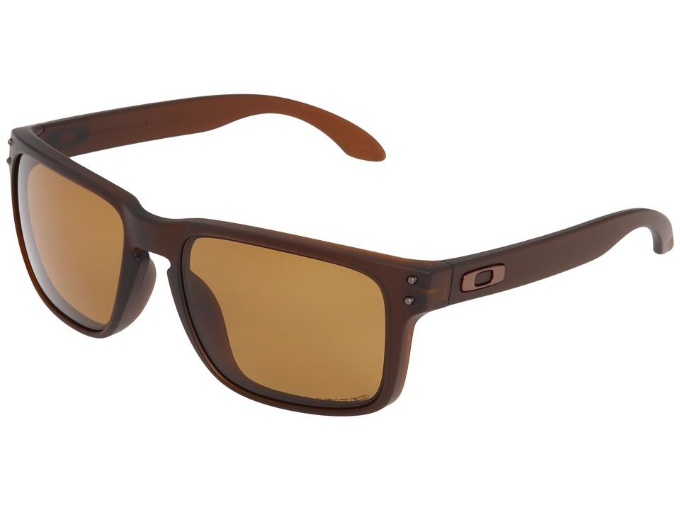 Oakley - Holbrook Polarized (Matte Rootbeer/Bronze Polarized Lens) Sport Sunglasses
