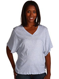 SALE! $16.99 - Save $51 on LnA Loose V Neck Tee (Heather Light Blue) Apparel - 75.01% OFF $68.00
