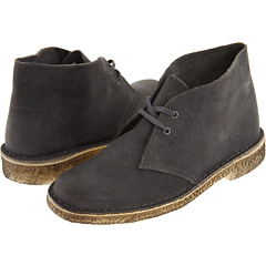 Clarks Desert Boot (Grey Distressed) Footwear