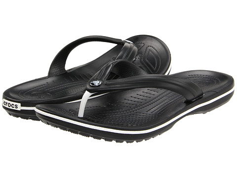 Crocs - Crocband Flip (Black) Shoes
