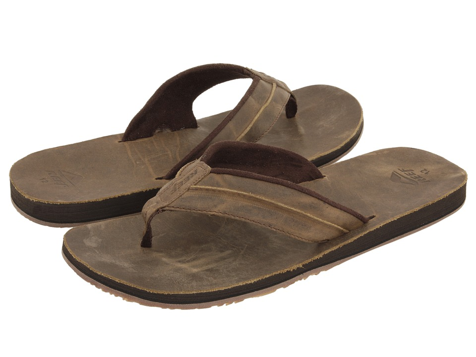 Reef - Reef Marbea (Dark Brown) Men's Sandals