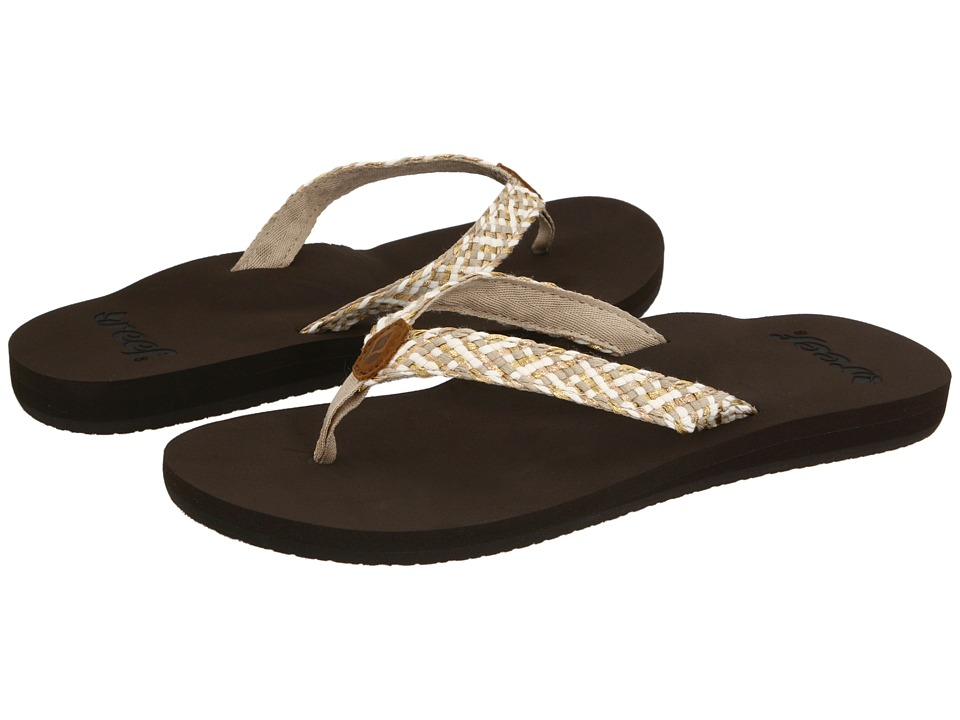 Reef - Reef Mallory (Brown/Metallic) Women's Sandals