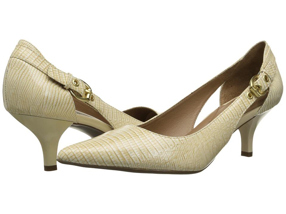 Circa Joan & David - Callalily (Ivory Reptile) High Heels