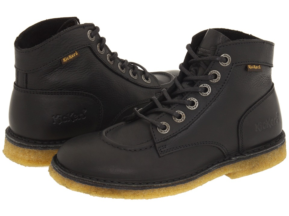 Kickers - Kick Legend (Black) Lace-up Boots