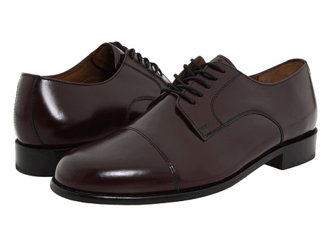 Bostonian Akron (Burgundy Leather) Men's Lace Up Cap Toe Shoes