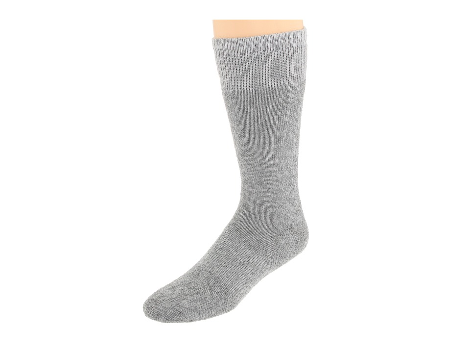Fox River - Heavy Duty Thermal Boot Crew 2-Pair Pack (Grey) Crew Cut Socks Shoes