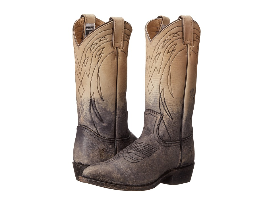Frye - Billy Pull On (Stone Stone Wash) Cowboy Boots
