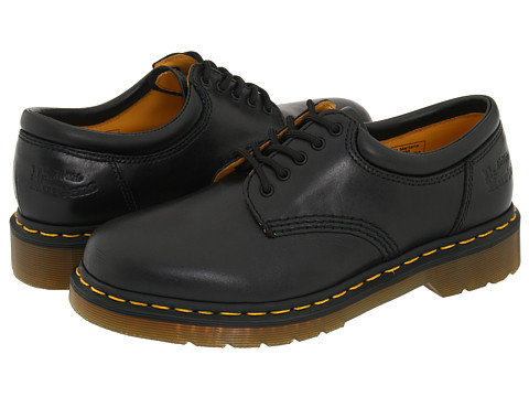 Dr. Martens - 8053 (Black Butero Leather) Lace up casual Shoes