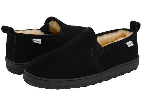 Fitzwell - Jay (Black) Men's Slippers