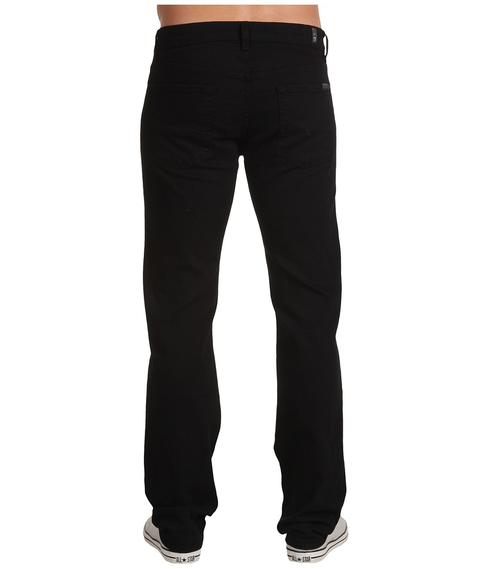 7 For All Mankind - Standard in Black Out (Black Out) Men's Jeans