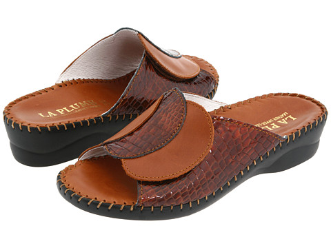 La Plume - Paola (Brown Croco) Women