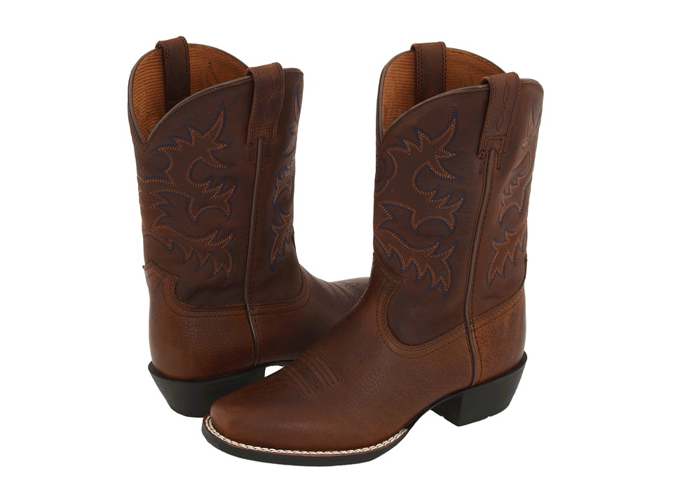 Ariat Kids - Legend (Toddler/Little Kid/Big Kid) (Brown Oiled Rowdy/DSW) Cowboy Boots