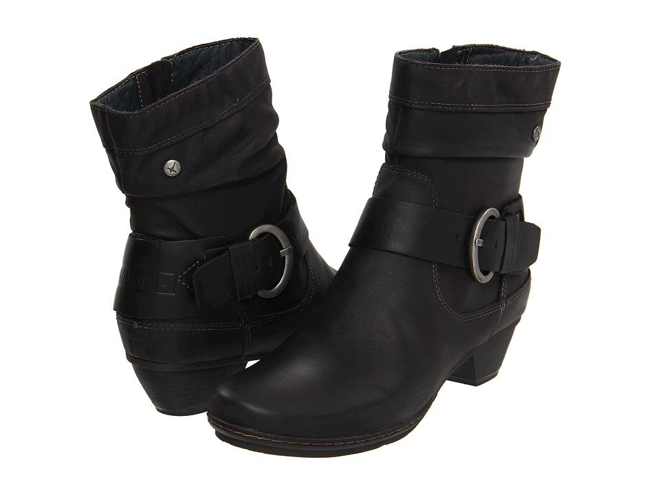 Pikolinos - Brujas 801-8003 (Black) Women's Zip Boots
