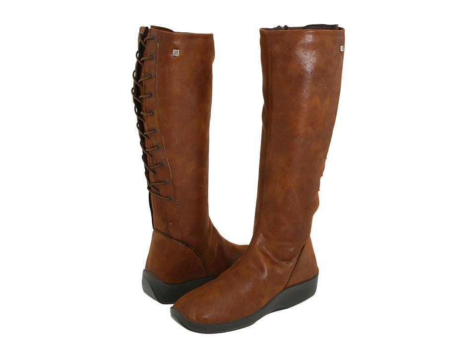 Arcopedico - L31D (Brown Lytech) Women's Zip Boots