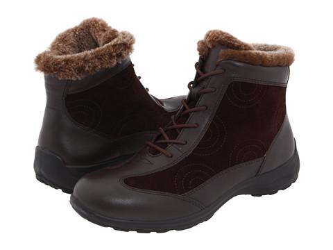 Flexus - Sanella (Brown Leather/Suede) Women's Waterproof Boots