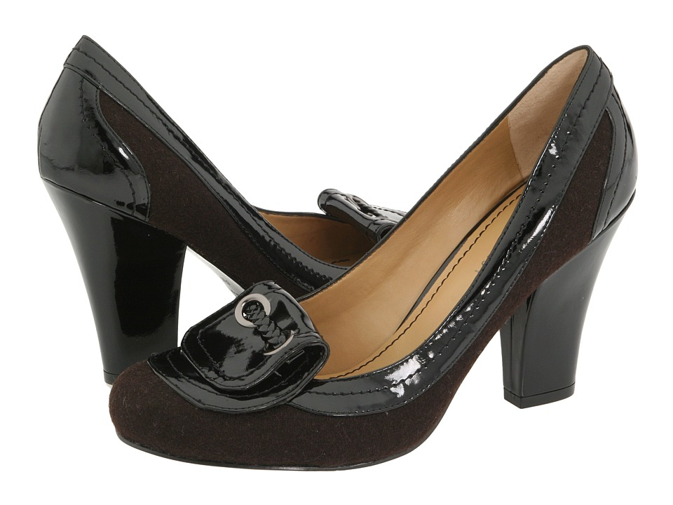 Nine West Capable (Brown/Black Fabric) Women