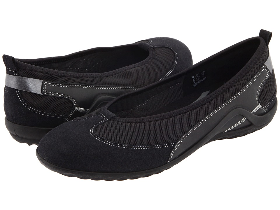 ECCO - Vibration II Skimmer (Black) Women's Slip on Shoes