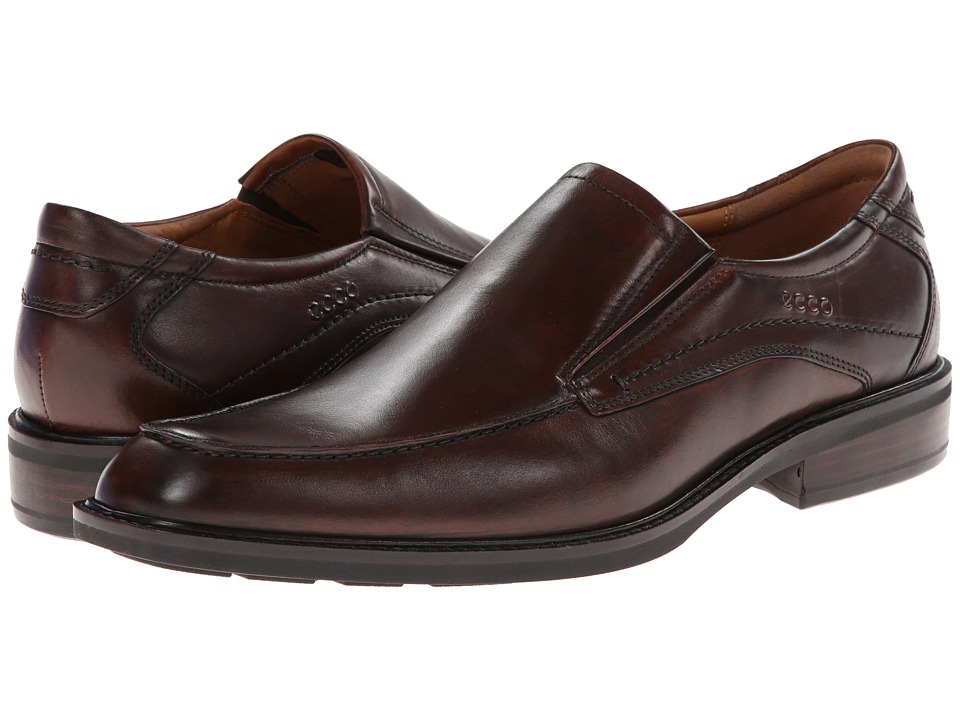 ECCO - Windsor Apron Slip-On (Cocoa Brown) Men's Slip-on Dress Shoes