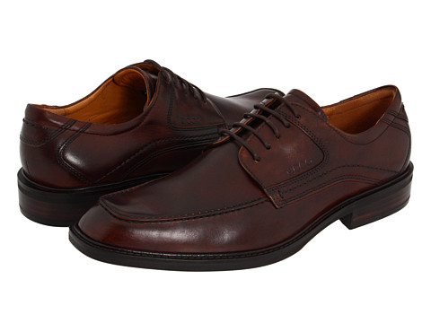 ECCO - Windsor Apron Tie (Cocoa Brown) Men's Lace up casual Shoes