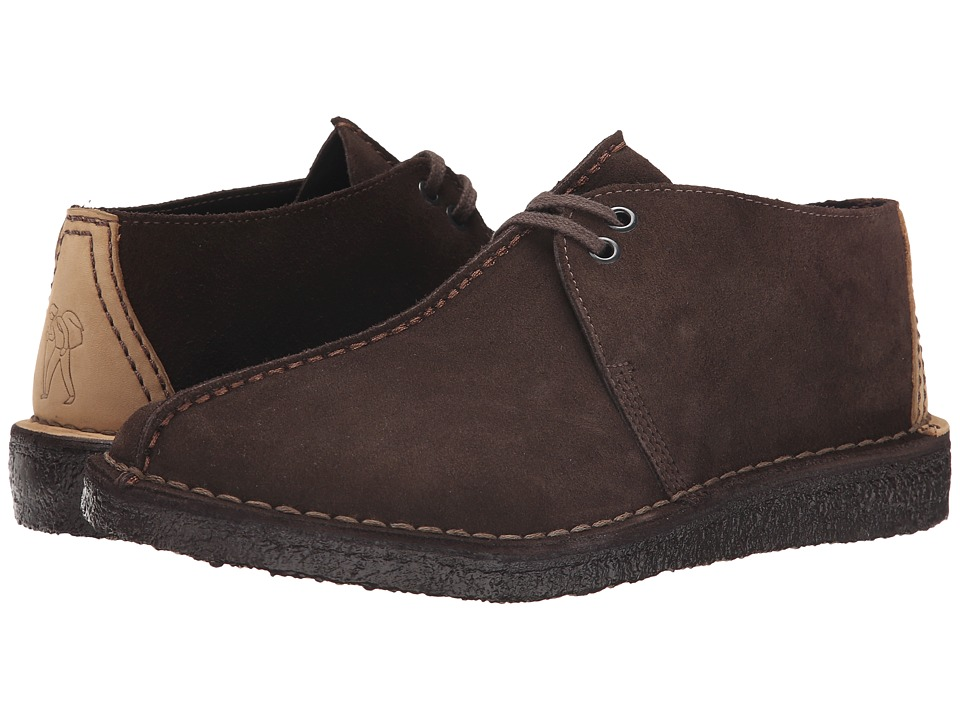 Clarks - Desert Trek (Brown Suede) Men's Lace-up Boots