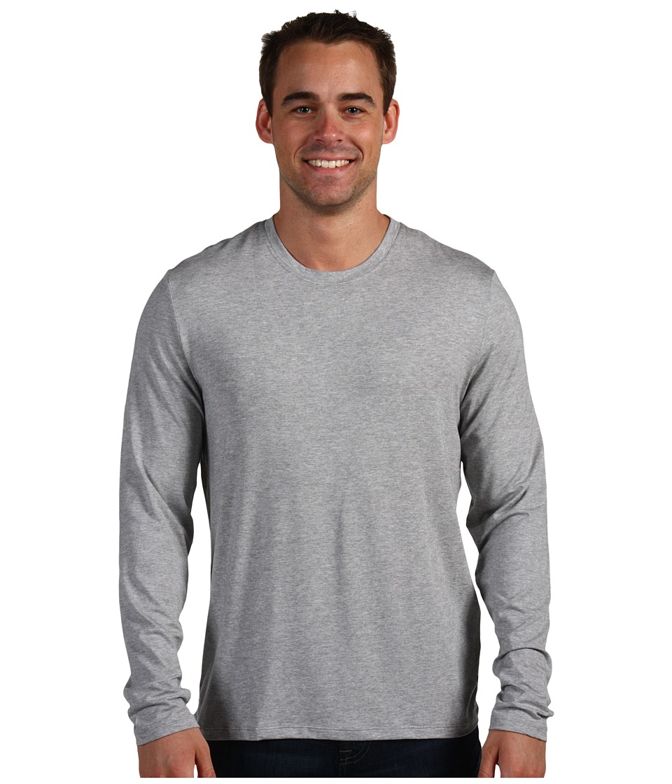 BOSS Hugo Boss - Innovation 5 L/S Crew Neck Shirt (Medium Grey) Men's Pajama
