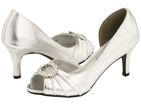 Touch Ups - Ivanna (Silver) Women's Bridal Shoes