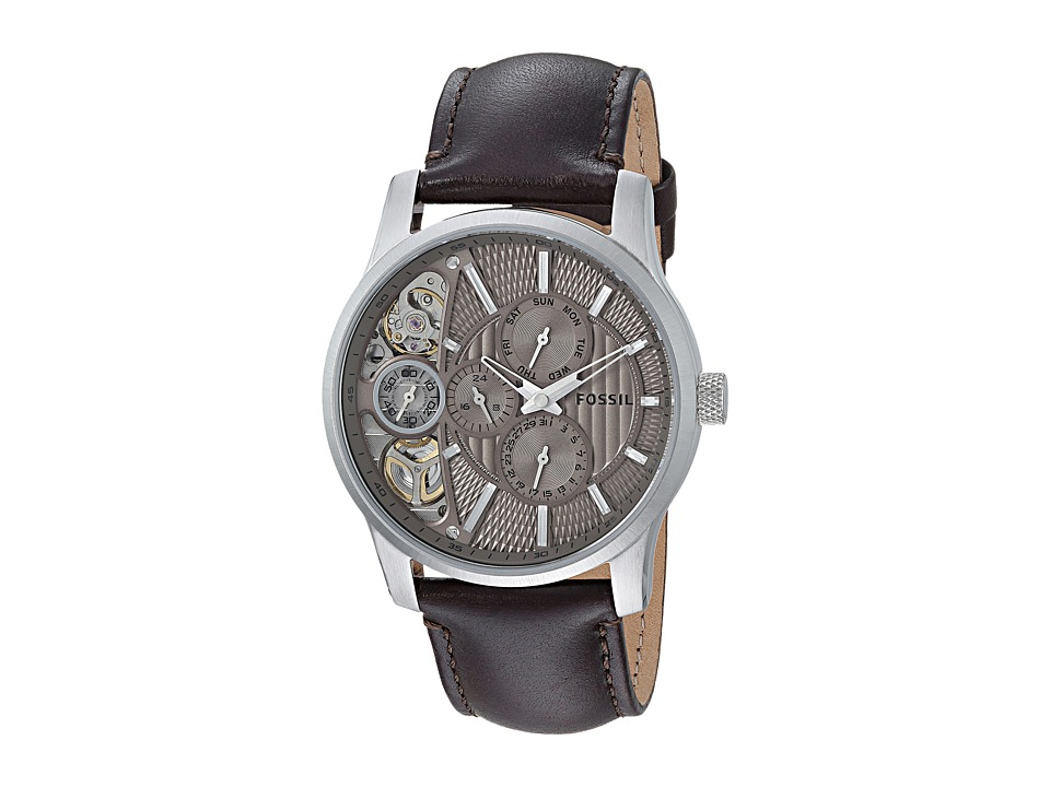 Fossil - ME1097 (Brown/Taupe) Analog Watches