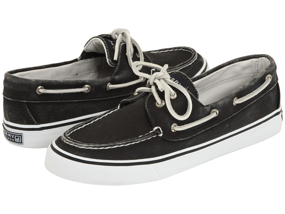 Sperry Top-Sider - Bahama 2-Eye (Black) Women's Slip on Shoes