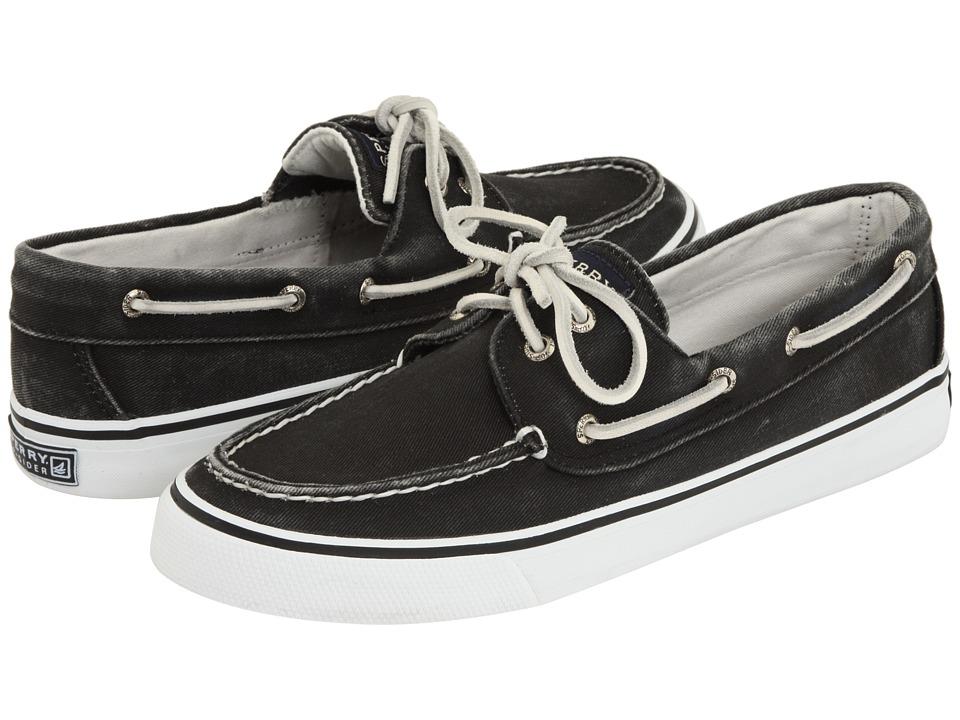 Sperry - Bahama 2-Eye (Black) Women's Slip on Shoes