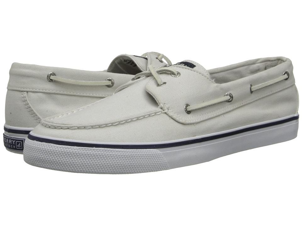 Sperry - Bahama 2-Eye (White) Women's Slip on Shoes