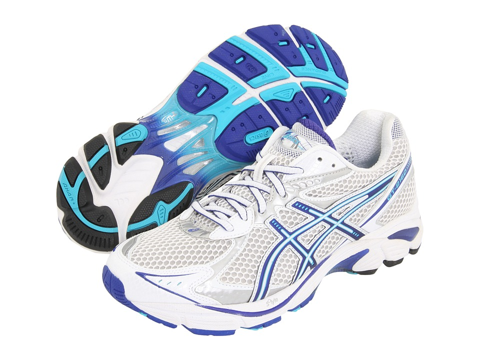 ASICS - GT-2160 (White/Electric Blue/Lightning) Women's Running Shoes