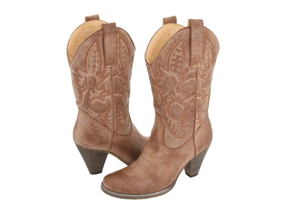 VOLATILE - Denver (Tan) Women's Dress Pull-on Boots