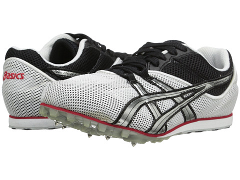 ASICS Hyper LD 4 (White/Lightning/Flame) Men's Track Shoes