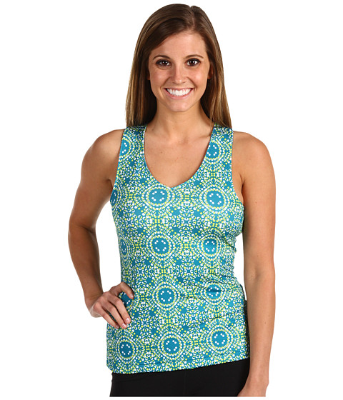 Columbia - Siren Splash Tank (Wink Mosaic Tides Print) Women's Clothing