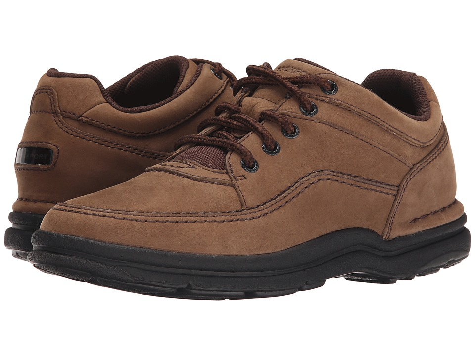 Rockport - World Tour Classic (Chocolate Nubuck) Men's Lace up casual Shoes