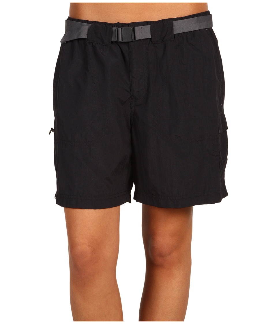 Columbia - Sandy River Cargo Short (Black/Grill 2) Women's Shorts