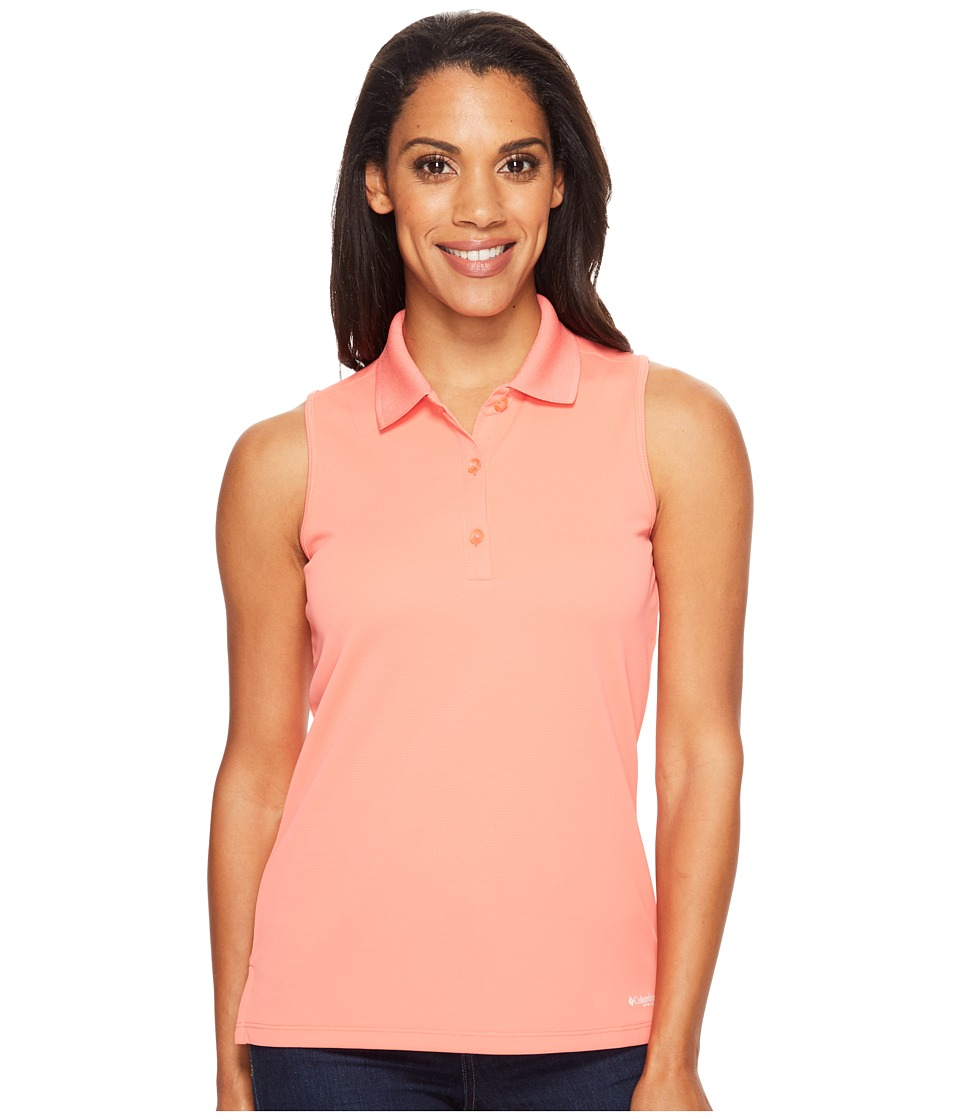 Columbia - Innisfreetm Sleeveless Polo Shirt (Melonade) Women's Sleeveless